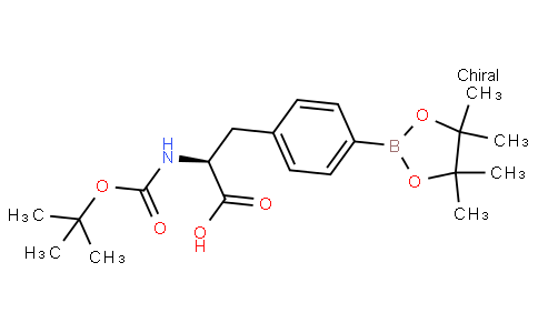 (S)-2-(tert-butoxycarbonylamino)-3-(4-(4,4,5,5-tetramethyl-1,3,2-dioxaborolan-2-yl)phenyl)propanoic acid