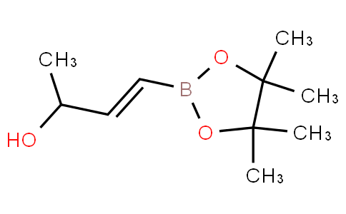 (E)-4-(4,4,5,5-四甲基-1,3,2-二氧硼杂环戊烷-2-基)丁-3-烯-2-醇