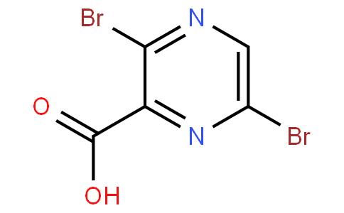 3,6-二溴吡嗪-2-甲酸