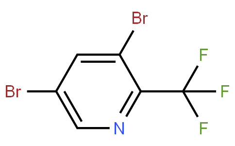 3,5-dibromo-2-(trifluoromethyl)pyridine