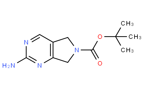 tert-butyl 2-amino-5H-pyrrolo[3,4-d]pyrimidine-6(7H)-carboxylate