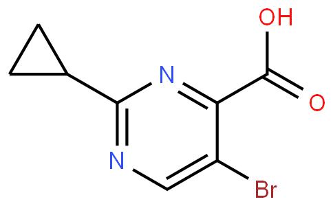 5-bromo-2-cyclopropylpyrimidine-4-carboxylic acid