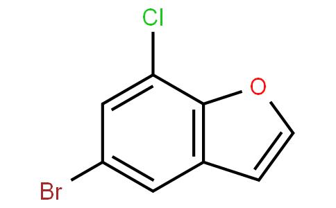 5-溴-7-氯-苯并呋喃