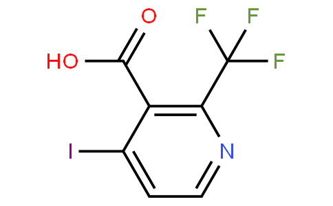 4-iodo-2-(trifluoromethyl)nicotinic acid