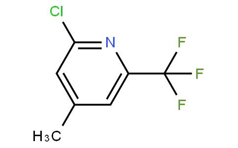2-氯-4-甲基-6-三氟甲基吡啶