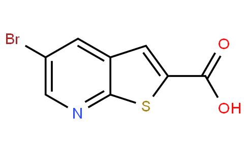 5-溴噻吩并[2,3-B]吡啶-2-羧酸