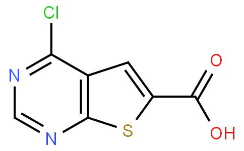 4-氯噻吩并[2,3-D]嘧啶-6-羧酸