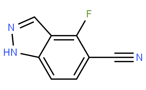 4-fluoro-1H-indazole-5-carbonitrile
