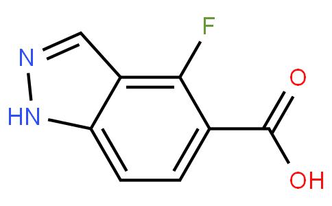 4-氟-1H-吲唑-5-羧酸
