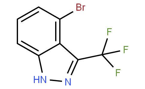 1H-吲唑,4-溴-3-(三氟甲基)