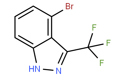 4-bromo-3-(trifluoromethyl)-1H-indazole