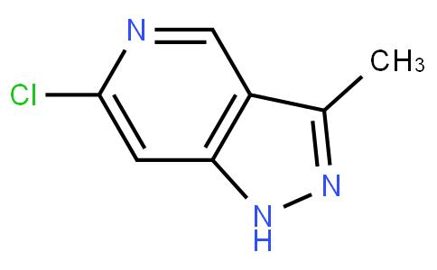 6-chloro-3-methyl-1H-pyrazolo[4,3-c]pyridine