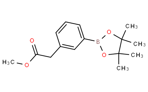 methyl 2-(3-(4,4,5,5-tetramethyl-1,3,2-dioxaborolan-2-yl)phenyl)acetate