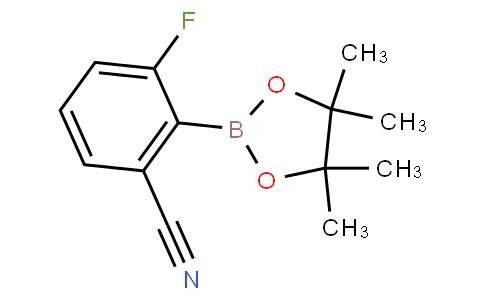 3-fluoro-2-(4,4,5,5-tetramethyl-1,3,2-dioxaborolan-2-yl)benzonitrile