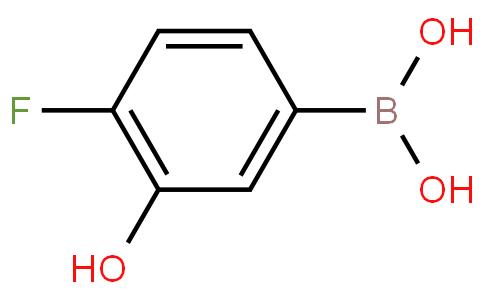 4-fluoro-3-hydroxyphenylboronic acid