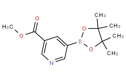 methyl 5-(4,4,5,5-tetramethyl-1,3,2-dioxaborolan-2-yl)nicotinate