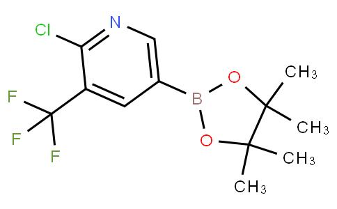 2-chloro-5-(4,4,5,5-tetramethyl-1,3,2-dioxaborolan-2-yl)-3-(trifluoromethyl)pyridine