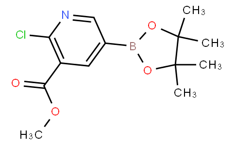 methyl 2-chloro-5-(4,4,5,5-tetramethyl-1,3,2-dioxaborolan-2-yl)nicotinate