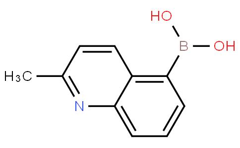 2-甲基-喹啉-5-硼酸