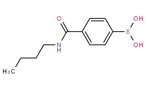 4-(丁基甲酰氨)苯基硼酸