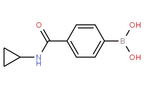 4-(cyclopropylcarbamoyl)phenylboronic acid