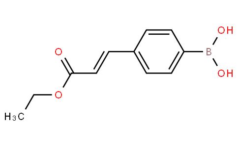4-(3-ethoxy-3-oxoprop-1-enyl)phenylboronic acid