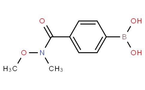 4-(N,O-二甲基羟氨甲酰基)苯硼酸