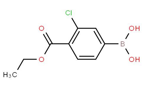 4-乙氧羰基-3-氯苯基硼酸