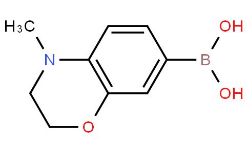 4-methyl-3,4-dihydro-2H-benzo[b][1,4]oxazin-7-ylboronic acid