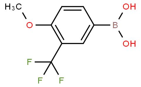 4-methoxy-3-(trifluoromethyl)phenylboronic acid
