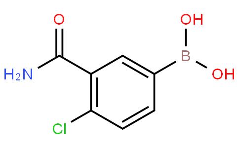 3-carbamoyl-4-chlorophenylboronic acid