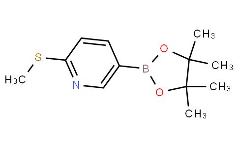6-(甲硫基)吡啶-3-硼酸频哪醇酯
