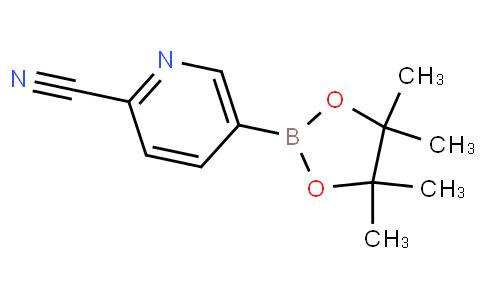 2-氰基吡啶-5-硼酸频那酯