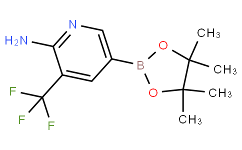 5-(4,4,5,5-tetramethyl-1,3,2-dioxaborolan-2-yl)-3-(trifluoromethyl)pyridin-2-amine