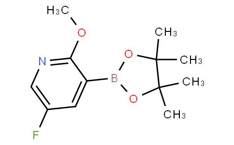 5-fluoro-2-methoxy-3-(4,4,5,5-tetramethyl-1,3,2-dioxaborolan-2-yl)pyridine