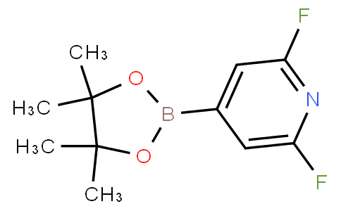 2,6-difluoro-4-(4,4,5,5-tetramethyl-1,3,2-dioxaborolan-2-yl)pyridine