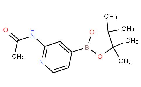 2-乙酰氨基吡啶-4-硼酸频那醇酯