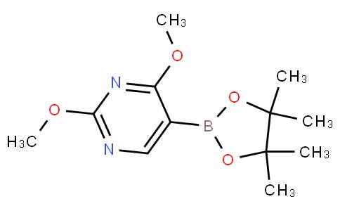 2,4-dimethoxy-5-(4,4,5,5-tetramethyl-1,3,2-dioxaborolan-2-yl)pyrimidine