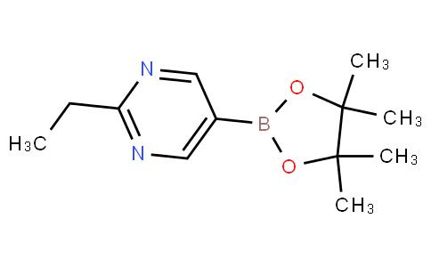 嘧啶, 2-乙基-5-(4,4,5,5-四甲基-1,3,2-二氧杂环己硼烷-2-基)-