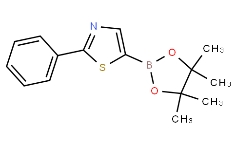 2-phenyl-5-(4,4,5,5-tetramethyl-1,3,2-dioxaborolan-2-yl)thiazole