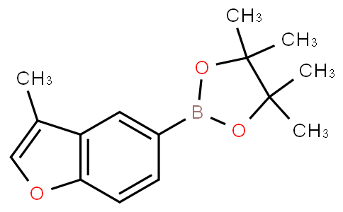 4,4,5,5-tetramethyl-2-(3-methylbenzofuran-5-yl)-1,3,2-dioxaborolane