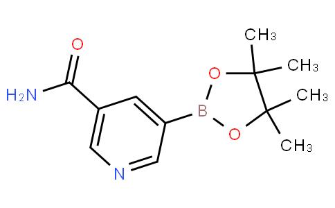 5-氨基甲酰吡啶-3-硼酸频哪酯