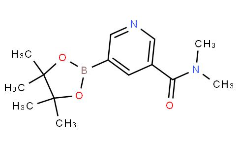 N,N-dimethyl-5-(4,4,5,5-tetramethyl-1,3,2-dioxaborolan-2-yl)nicotinamide