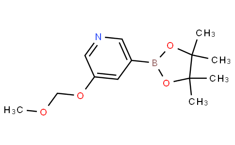 3-(methoxymethoxy)-5-(4,4,5,5-tetramethyl-1,3,2-dioxaborolan-2-yl)pyridine