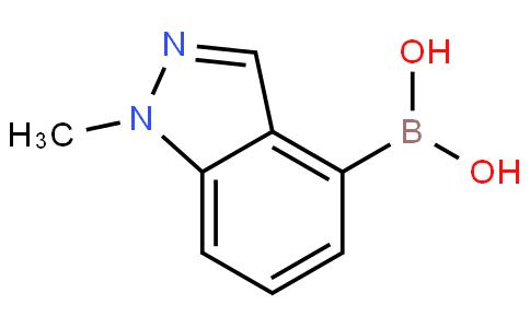 1-甲基吲唑-4-硼酸