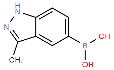 B-(3-甲基-1H-吲唑-5-基)硼酸