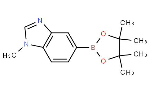 1-甲基-1H-苯并咪唑-5-硼酸那醇酯