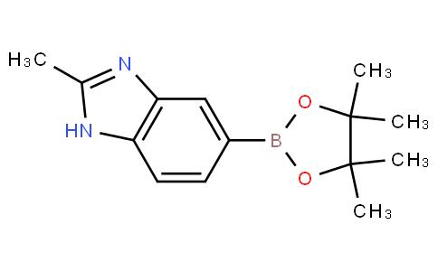 2-methyl-5-(4,4,5,5-tetramethyl-1,3,2-dioxaborolan-2-yl)-1H-benzo[d]imidazole