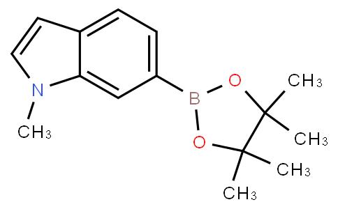 1-甲基- 6 -(4,4,5,5 -四甲基-1,3,2 - 二氧硼戊环-2-基)-1H -吲哚