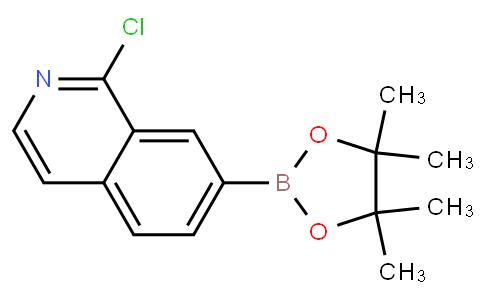 1-氯-7-(4,4,5,5-四甲基-1,3,2-二氧杂环戊硼烷-2-基)异喹啉
